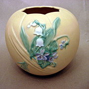 Bouquet Weller Pottery Large Vase