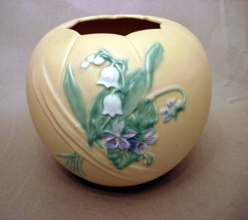 Bouquet Weller Pottery Large Vase From Ottosantiques On Ruby Lane