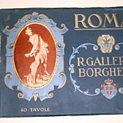 R. Galleria Borghese - Roma 40 Tavole Serie No.223