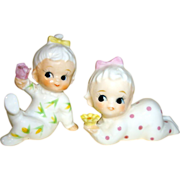Miniatures Porcelain Babies Figurines