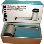 Vintage German Minox Film Viewing Magnifier