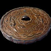 Japanese Scroll metal weight - Samurai Shokai Yokohama