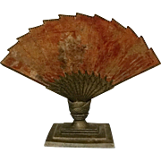 Gorgeous Vintage Art Deco Fan Lamp