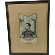 H.M. King George VI Silk Picture Woven by Thomas Stevens (Coventry) LTD