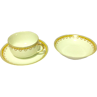 Limoges 3 Pieces Set