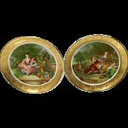 Bravaria-Germany 'Love Story' Fragonard Plates
