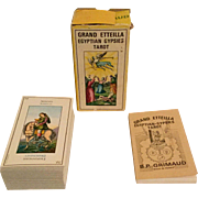 Vintage Grand Etteilla Egyptian Gypsies Tarot Cards