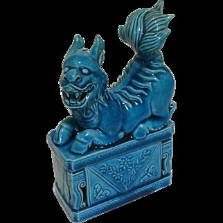 Vintage Chinese Porcelain Foo Dog