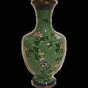 Vintage Chinese Cloissone Vase
