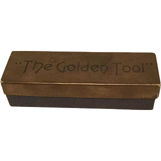 Vintage Golden Tool - For The Man Who Has Tight Nuts - Gag Gift