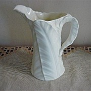 Royal Worcester Leaf Pattern Pitcher