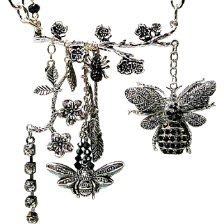 Buggin' Me - Out of My Mind Necklace