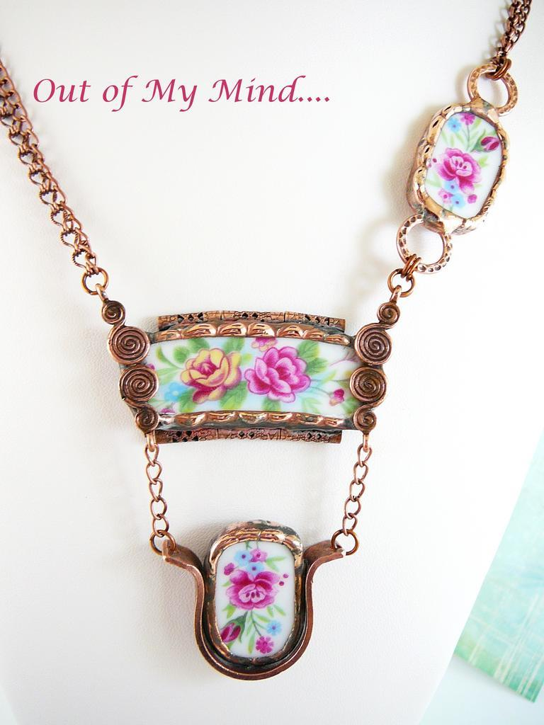 Garden Swing ~ Out of My Mind Soldered Necklace