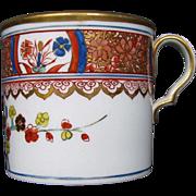 Spode Coffee Can, Kakiemon Pattern 282, Antique Early 19th C