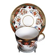 Spode Imari Cup & Saucer, Early 19th C, Antique c 1811