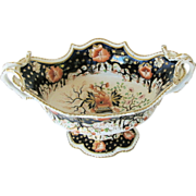 Grainger's Worcester Porcelain Centerpiece Bowl, English Imari, Antique c 1825