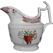 Early Coalport Porcelain Creamer (Cream Jug), Antique c 1810,  Anstice, Horton & Rose