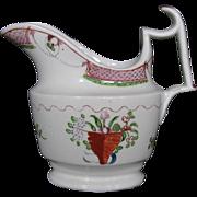 Early Coalport Porcelain Creamer (Cream Jug), Antique Early 19th C,  Anstice, Horton & Rose