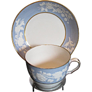 Two Sets, Spode Cups & Saucers, Lavender Blue, , Antique Early 19th C