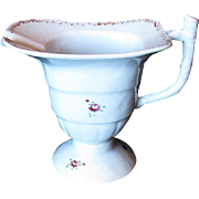 Chinese Export Helmet Creamer, Famille Rose, Antique Late 18th C - Early 19th C
