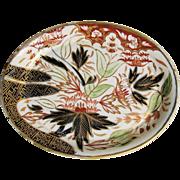 "Rare John Rose Coalport ""Thumb and Finger"" Pattern (1st version) Teapot Stand, Antique c1800"