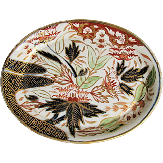 """John Rose Coalport Teapot Stand, """"Finger and Thumb""""  (1st version) , Antique Early 19th C English"""