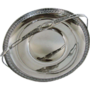 Watson Sterling Silver Basket with Handle