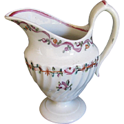 Rare Keeling (Factory X)  Porcelain Cream Jug, 18th C English