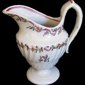 Rare Keeling (Factory X)  Porcelain Cream Jug, 18th C English