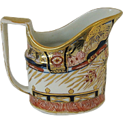 John Rose Coalport Creamer, English Imari, Antique Early 19th C