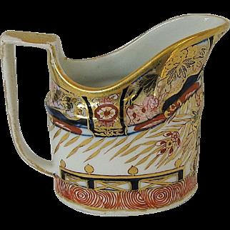 John Rose Coalport Creamer, English Imari, Antique Early 19th C