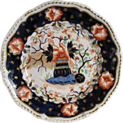 Grainger's Worcester Plate,  English Imari, Antique c 1825