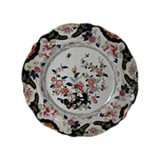 "John Ridgway Plate, English Chinoiserie, ""Constantia"", Antique Early 19th C"