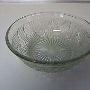 Iris and Herringbone Cereal  Bowl