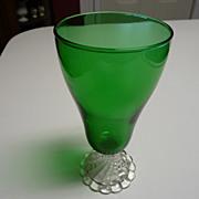 Anchor Hocking Green Boopie Glass