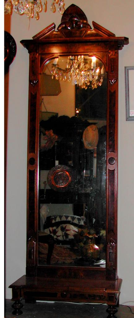 Gorgeous American Victorian Pier Mirror in the Renaissance Revival style