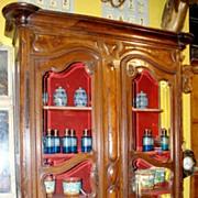 18th Century French Walnut Bookcase