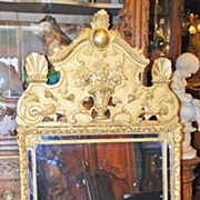 19th Century French Goldleaf Mirror