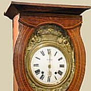 19th Century French Painted Clock