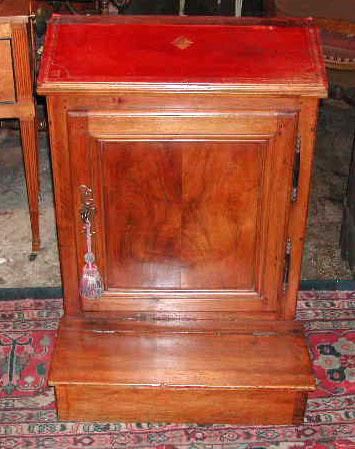 19th Century Walnut Oratoire