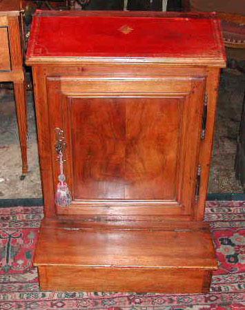 19th Century Walnut Oratoire