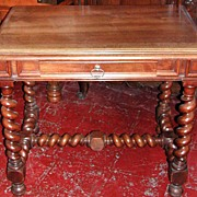 Nicely Carved French Louis XIII Table