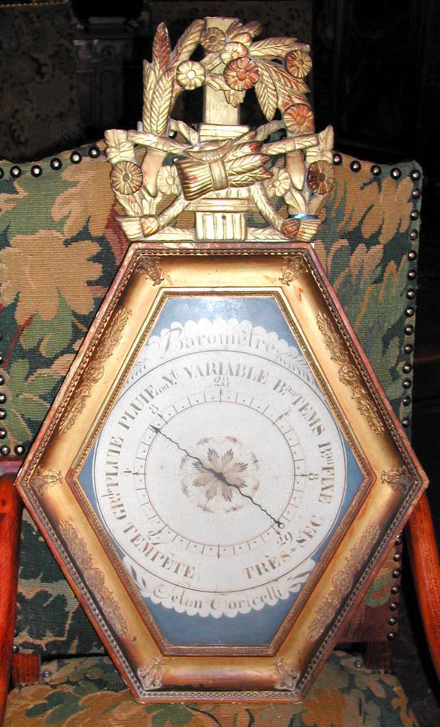 Wonderful French Barometer