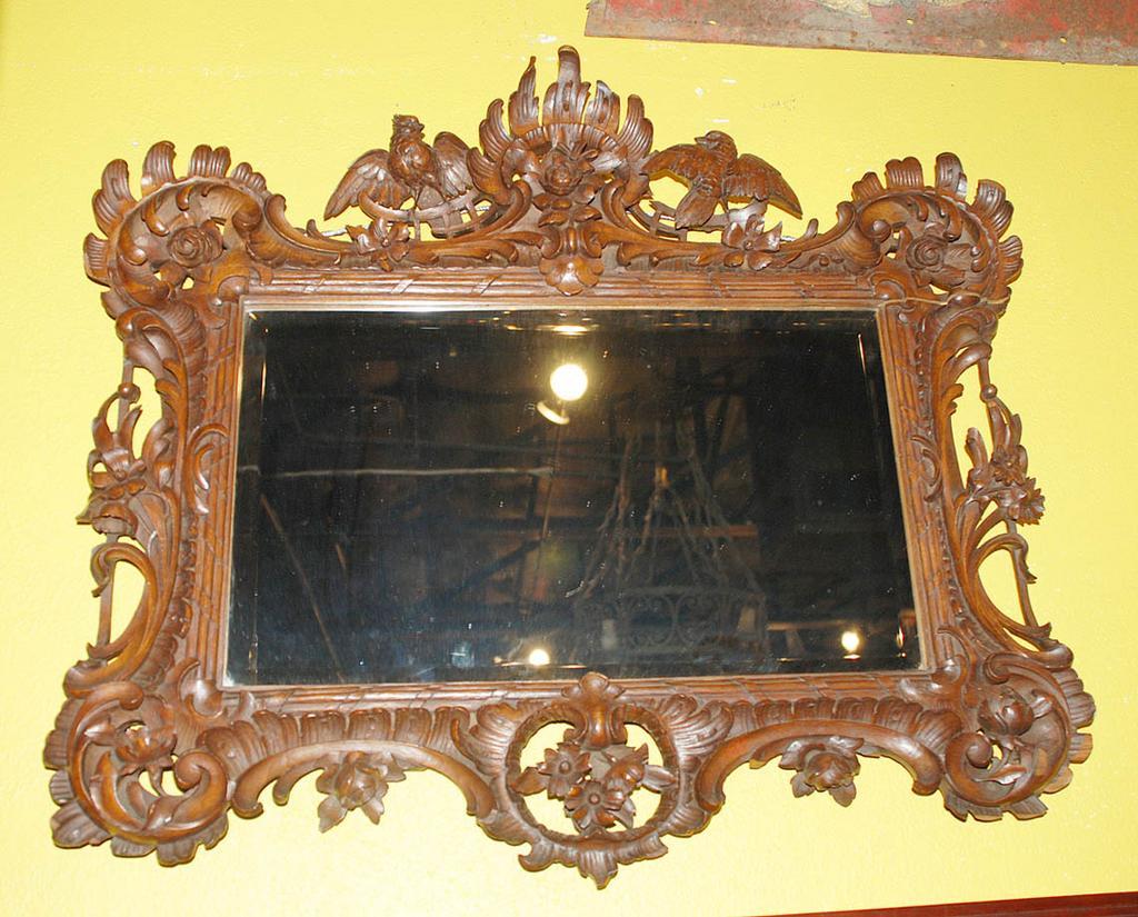 Walnut Provincial Mirror