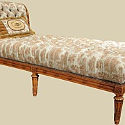 Beautiful Louis XVI Style Chaise