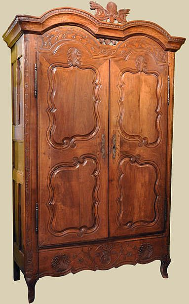 Gorgeous18th C. Brittany Armoire