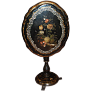 Napoleon III Painted Tilt-Top Table