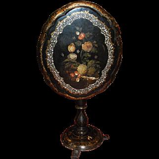 Napoleon III Painted Tilt-Top Table