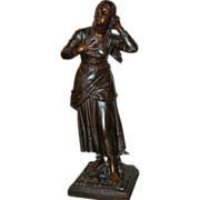 "Bronze Sculpture, ""Joan of Arc"""