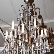 Gorgeous French Crystal Chandeliers
